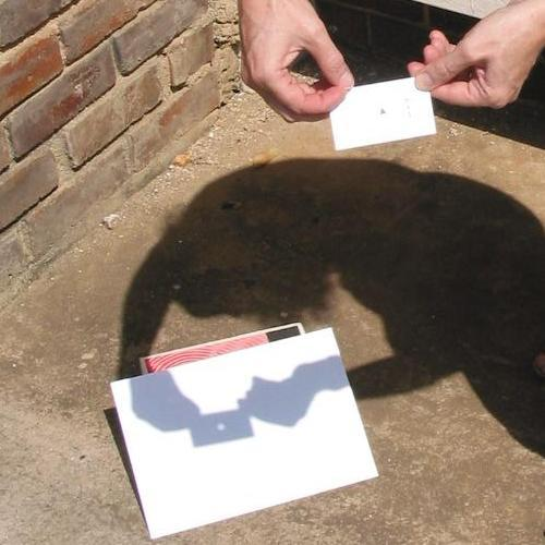 Watch The Eclipse Safely Pinhole Projection